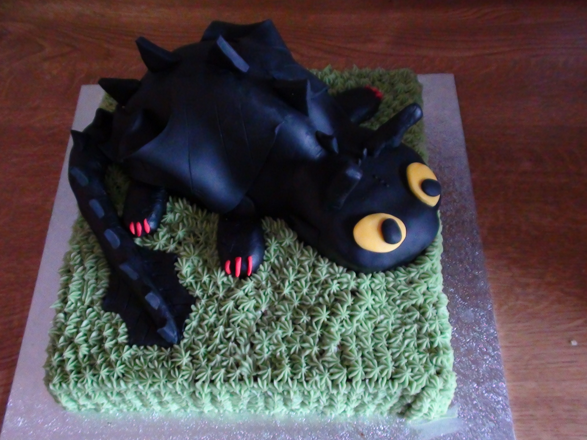 My Sons 7th Birthday cake SuzieCupcake