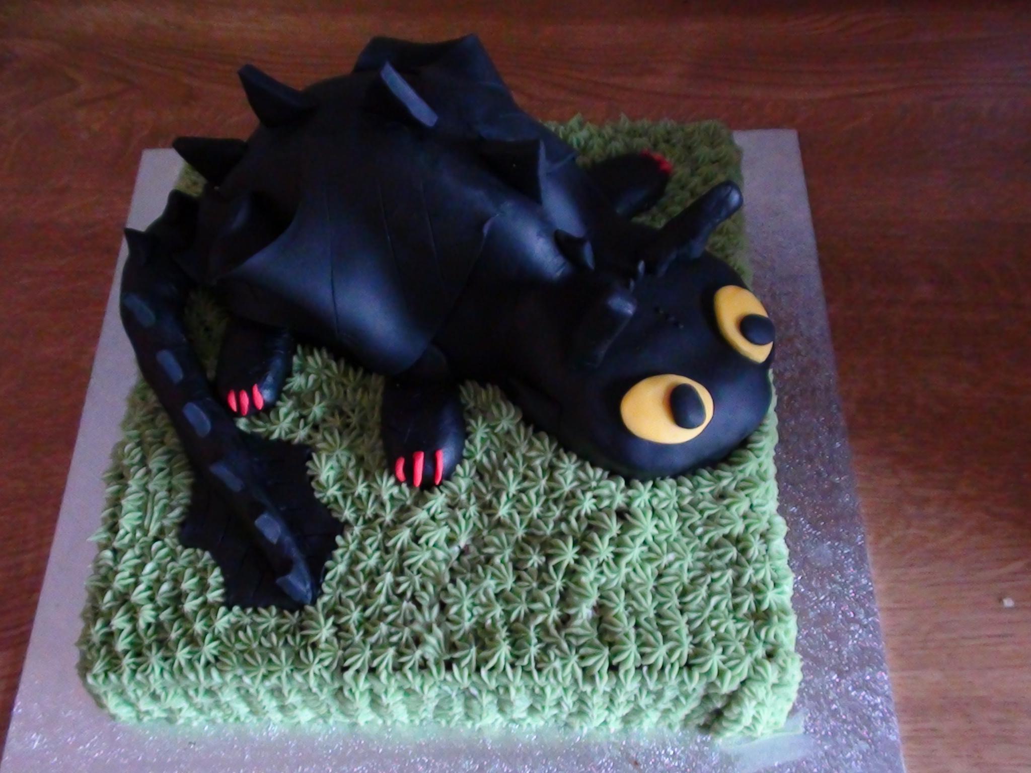 Cake Design Dragon Trainer : My Sons 7th Birthday cake SuzieCupcake